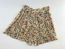 Women's vintage rayon floral skorts size 10 made in Australia
