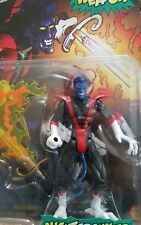 VINTAGE MARVEL TOYBIZ NIGHTCRAWLER ACTION FIGURE 1996 X-MEN LEGENDS Lightup