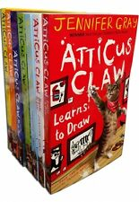Atticus Claw Worlds Greatest Cat Detective Collection 7 Books Set Jennifer Gray