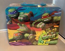 Teenage Mutant Ninja Turtles Puzzle/Metal Lunch Box (2016, Brand New)