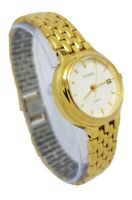 Sekonda Ladies Quartz Gold Tone Bracelet Dress Watch NSG A18
