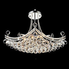 Modern Crystal Luxury 6-Light Chandelier Pendant Light Ceiling Lamp Living Room