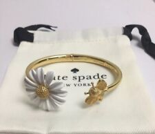 Kate Spade New York All Abuzz  Bee Open Hinged Cuff Bracelet w/ KS Dust Bag New
