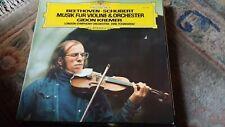"Gidon Kremer,""Beethoven/Schubert : Music for Violin and Orchestra"" Rare Vinyl LP"