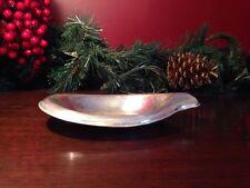 Vtg 1847 Rogers Silver FLAIR Serving Dish International Silverplate Bowl