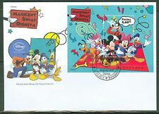 Poland 2013 Disney Characters Souvenir Sheet Perforated Fdc
