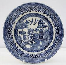 Vintage Willow Pattern Cereal Bowl Dish Churchill