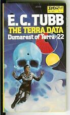 THE TERRA DATA by E.C. Tubb rare US DAW Book sci-fi Dumarest #22 pulp vintage pb