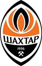 "Shakhtar Donetsk FC Ukraine Soccer Football Car Bumper Sticker Decal 3"" x 5"""
