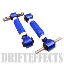 G1 BLUE CIVIC CRX DEL SOL INTEGRA EF EG EK DA DC2 REAR ADJUSTABLE CAMBER ARM KIT