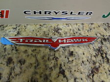 14-16 Jeep Cherokee Trailhawk Trail Hawk Red Badge Nameplate Emblem Mopar Oem