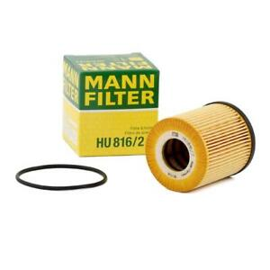 Mann-filter Oil Filter HU816/2x fits Mini MINI R50, R53 Cooper Cooper S Works