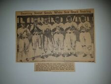 White Sox Rip Radcliffe Luke Appling Al Simmons Team Jack Hayes 1935 DMR Picture