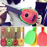 Sale 32cm Fruit Ukelele Guitar 4 Strings Musictal Instrument Educational Toy