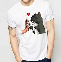 American Bully Love Funny Gift Dog Lovers T-Shirt Full Size