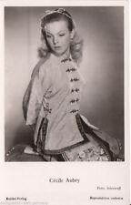 Cecile Aubry Kolibri Verlag Postkarte 50er Jahre 340 + P 2987