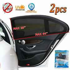 2 x Car Side Window Mesh Shades for Baby, UV Privacy Protection SUV Mosquito Net