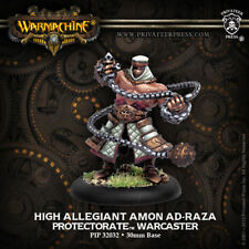 Warmachine: Protectorate of Menoth High Allegiant Amon Ad-Raza PIP 32032 NEW