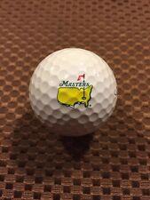 LOGO GOLF BALL-THE MASTERS....PGA TOUR MAJOR...AUGUSTA NATIONAL GOLF CLUB..NEW!!