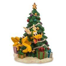 Pluto Reindeer Holiday Christmas Tree Figure Disney Store Exclusive Figurine
