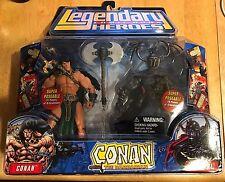 LEGENDARY COMIC BOOK HEROES CONAN THE BARBARIAN 2-PACK FIGURE SET CONAN  WRARRL