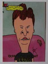 BEAVIS and BUTT-HEAD _ Uuhh, Did You Say Something? _ 1994 Fleer MTV Promo Card