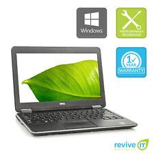 """Dell Latitude E7240 12.5"""" Laptop  i7 Dual-Core 8GB 256GB SSD Win 10 Pro B v.AA"""