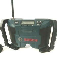 Bosch PB120 12-Volt Max Lithium-Ion AM/FM Radio With Power Cord No Battery Works