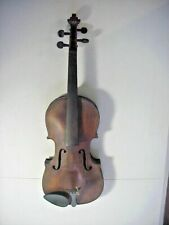 HOPF Antique  FINELY MADE  VIOLIN  with 1 piece TIGER MAPLE BACK #3