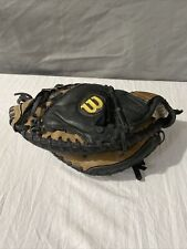"""New listing WILSON A450 Defender Baseball Catcher's Mitt~~Youth~~Genuine Leather~~ LHT~~32"""""""