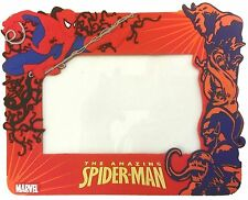 """Marvel Heroes Spider-Man Venom Rubber Picture Frame 4"""" X 6"""" Picture Size NEW"""