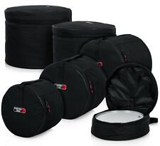 Gator Cases GP-STANDARD-100 Padded Nylon Bag, 5 piece Set for Standard Drum Kits