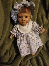 "Vintage Berenguer Jc Toys 9"" Blue Eye Doll"