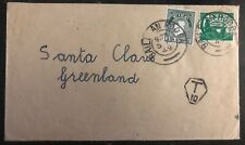 1949 Baile An Rodba Ireland Cover To Santa Claus In Greenland