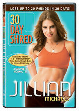 Jillian Michaels: 30 Day Shred (2008, DVD NEUF)