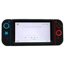 Anti-slip Silicone Cover Skin Case for Nintendo Switch Console / Joy-Con - Black
