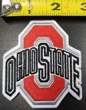 Ohio State University OSU Buckeyes 3x2.75 inch Iron/Sew on Patch~Free Shipping~
