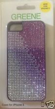 New Greene iPhone 5 Protective Baby Rivet Case with Rhinestone