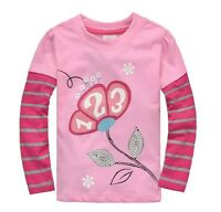 New Beautiful Girls Long Sleeve Top Size: 18M,  3,  6