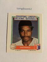 1988 Starting Lineup Talking Baseball Dave Winfield #24 Free Shipping