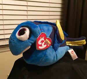 Ty Disney Beanie Boos FINDING DORY Movie DORY the Fish Plush Stuffed Animal