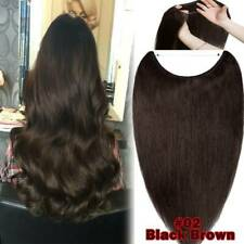 Best Crown Wire/Line Invisible Headband Human Hair Extensions Secret Wire Style
