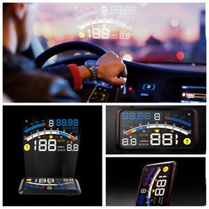 Car head-up display HUD trip computer intelligent digital speed fuel consumption