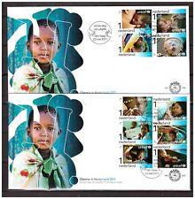 Netherlands 2011 FDC 629 65 year UNICEF