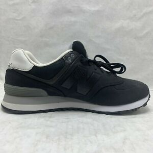 New Balance 574 Classic Black Grey White ML574ACB Men's Shoes Size 10.5 sneaker