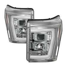 Spyder Auto 5084705 Version 2 Projector Headlights Chrome For Ford F-250 11-16