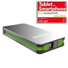 NINETEC 9000mAh PowerBank mobiler Akku für Samsung Galaxy S4 Mini S5 Mini NT609