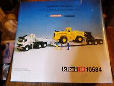 Kibri 10584, schwertransport mit radlader, 30 jahr alt
