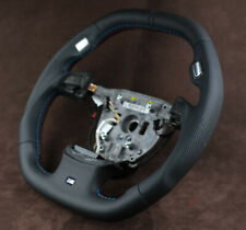 BMW Custom Steering Wheel Flat bottom Square TOP E65 E66 7 Series 2001-2008 OEM