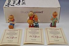 Studio Hummel Berta Hummel Goebel Set Of 3 Christmas Ornaments With Box Coa #4